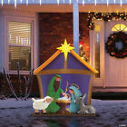 Mr Christmas 32 Nativity Blow Mold HUGE Outdoor Christmas Decorations BRAND NEW