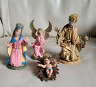Depose ITALY Fontanini Nativity set of 4 figurines man Mary Angel baby Jesus