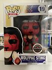 Funko Pop WWE Wolfpac Sting 19 GameStop Exclusive With Pop Hard Stack