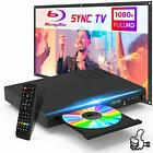 Blu Ray DVD Player Native 1080P HD Disc Player with HDMI AV Cables Remote Con