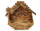 Bethlehem Olive Wood Nativity Set Stable only