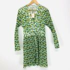 opt x Emily Luciano Green Floral Pleated Dress
