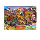 Lion Guard 10 Piece Deluxe Figure Pack Multi Color