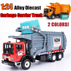 KDW 124 Alloy Diecast Garbage Carrier Truck Waste Transporter Vehicle Toys Gift