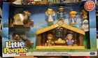 Fisher Price Little People Childrens Nativity Set 11 Figures + Manger BRAND NEW