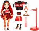 Rainbow Surprise Rainbow High Ruby Anderson  Red Fashion Doll with 2 Outfits
