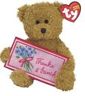 Ty Beanie Baby Thanks a bunch - MWMT (Bear Greetings Collection) 2006