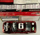 Autographed Mark Martin 6 Folgers Red Chrome 1989 Thunderbird 1 24