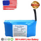36V 44AH Lithium Ion Battery For Smart Self balancing Fits 65 8 10 FAST SHIP