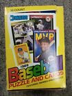 1989 Donruss Baseball Wax Box 36 Pack Count SMALL RIP ON TOP OF BOX