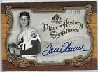 TOM SEAVER 2006 SP LEGENDARY CUTS PLACE IN HISTORY SIGS. CERTIFIED AUTOGRAPH# 55