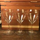 Baccarat Chambolle White Wine 3 Glasses Glass French Crystal France