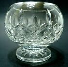 VINTAGE 1990s WATERFORD CRYSTAL BOWL FOOTED CANDY DISH LISMORE 24 LEAD IRELAND