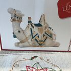Lenox First Blessing Nativity Camel Teal 869930 NEW
