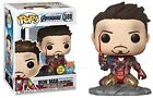 Funko Pop! Avengers Endgame: I Am Iron Man Glow-in-The-Dark Exclusive Figure