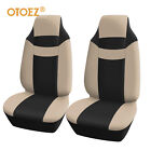 Front High-back Seat Covers Bucket Seat Protector Strong Stretchy For Most Cars