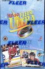 2 BOX LOT 1992 93 FLEER ULTRA SERIES 1 HOCKEY HOBBY SEALED