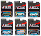 HOLLYWOOD SPECIAL EDITION THE A TEAM SET OF 6 CARS 1 64 BY GREENLIGHT 44865