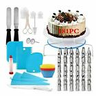 Cake Decorating Kit 181 SetBaking Supplies Tools With Cake Turntable 181PC