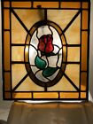 Beautiful Rose Stained Glass Window And Absolutely Beautiful In Light