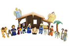 BibleToys Tales of Glory Nativity Set For Kids Premium Christmas Nativity Set