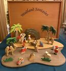 woodland fantasies Nativity set