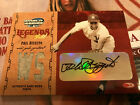 PHIL RIZZUTO auto 50 GU 2004 signed DONRUSS LEGENDS of the FALL autograph SP