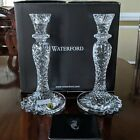 Waterford Crystal SEA JEWEL CandleStick 10 Candle Holder Abstract Seahorse