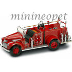ROAD SIGNATURE 20068 1941 GMC FIRE TRUCK ENGINE 1 24 with ACCESSORIES RED