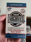 2020 Topps Archives Snapshots Online Exclusive Factory Sealed 10 Box Lot