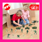 18 Pack Die cast Military Vehicles Sets6 Pack Assorted Alloy Metal Army Models