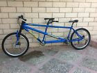 CANNONDALE MT2000 MOUNTAIN TANDEM BIKE EXTRA LARGE AND LARGE SHIMANO XT nice