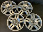 VW Volkswagen Manhattan OEM Touareg Wheels Rims + Caps 18