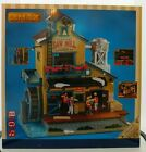 LEMAX Holiday House Village Exclusive Menards Saw Mill Animated Sight Sound -NIB