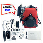 49cc 4 Stroke Gasoline Bicycle Engine Motor Set for ATV Pocket Mini Bike Scooter