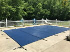 Pool Safety Cover Rectangle Inground for Winter Swimming Pool Mesh Solid 16x32