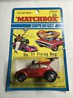Matchbox SuperFast 11 FLYING BUG IN CARD