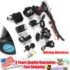 Wiring Harness CDI Ignition Coil Lead Kit For GY6 125CC 150cc ATV Quad Go Kart
