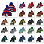 Embroidered NFL Team Logo Cuff Knitted Skull Beanie Hat Winter Warm Unisex Cap