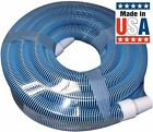 Poolmaster Heavy Duty In Ground Pool Vacuum Hose With Swivel Cuff 1 1 2 Inch 30f