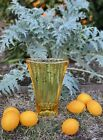 Fire and Light Citrus Aurora Vase 1st Quality and Signed