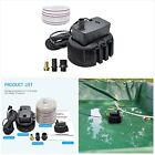 Swimming Pool Cover Pump 850 GPH Submersible Sump Pumps Above Ground with 3 Adap