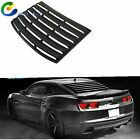 For 10 15 Chevy Camaro Coupe Matte Rear Window Louver Windshield Shade Cover New