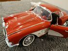 1958 RED CHEVY CORVETTE 112 SCALE BY GEARBOX COLLECTIBLE DIE CAST CAR
