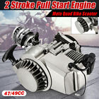 47cc 49cc 2Stroke Pull Start Engine Motor Fit for Pocket Mini Quad Bike Scoote
