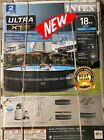 Intex 18Ft x 52In Ultra XTR Frame Round Swimming Pool Set with Pump PICKUP ONLY