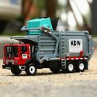 KDW 124 Alloy Transporter Garbage Vehicle Truck Diecast Car Model Toys Gift