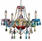 Saint Mossi Modern Crystal Chandelier Lights Colorful Multicolor Best Sale
