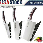 Kitchen Knife Set Stainless Steel Utility Pro Chef Chopping Meat Cleaver Knives