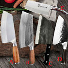 Hunters Serbian Forged Butcher Knives Meat Cleaver Chopping Kitchen Chef Knife